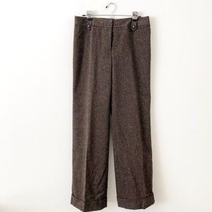 Ann Taylor Margo Brown Trouser 10